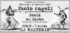 Paolo Angeli + Bobik ou Sacha